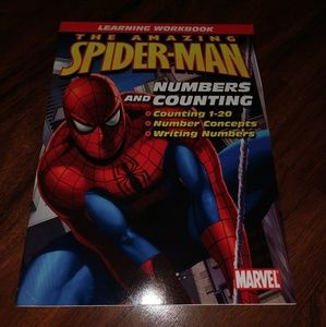 New never used 2007 Spider-Man numbers & counting